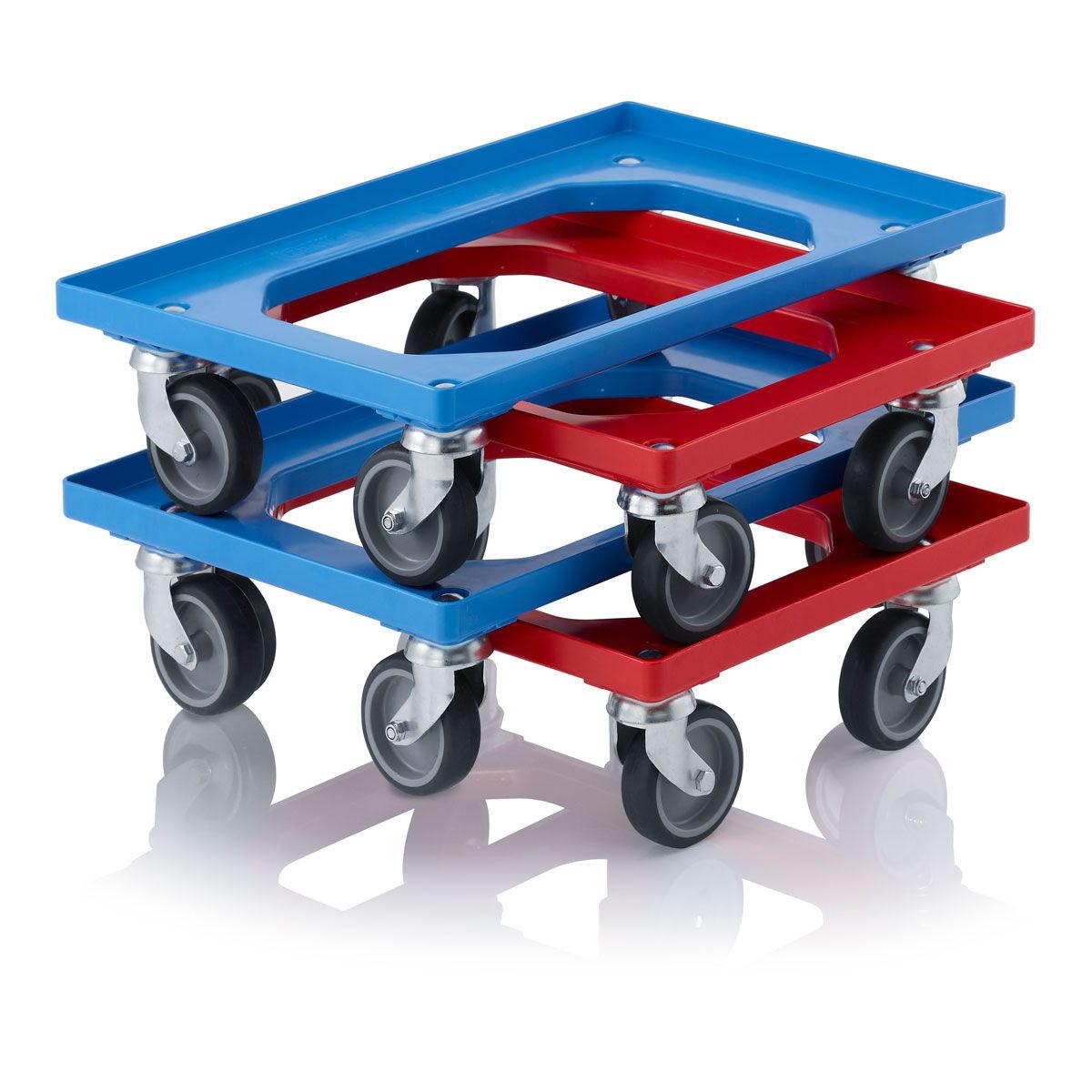 Bases m viles para cajas for Cajas plasticas con ruedas