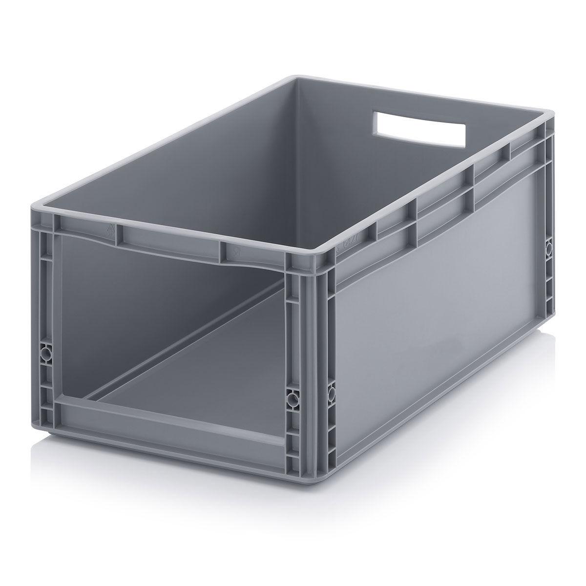 Cajas de pl stico apilables con tapa cajas de pl stico - Cajas apilables de plastico ...