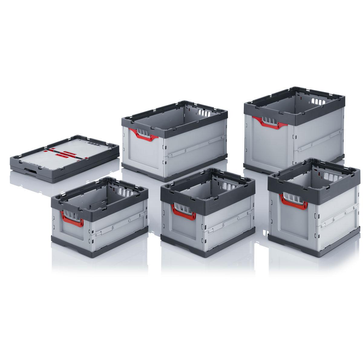 Cajas de pl stico plegables for Cajas de plastico plegables