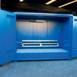 Cámara térmica para exterior e interior con sistema anticongelación y ventilación forzada
