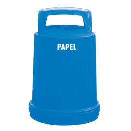Contenedores plásticos cubrebidones de 200lts para residuos