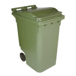 Contenedores plásticos para residuos de 2 ruedas