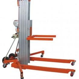 Elevadores manuales de aluminio con manivela y elevación