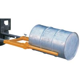 Posicionador horizontal de barriles para carretilla