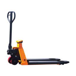 Transpaleta manual pesadora para 2000kg