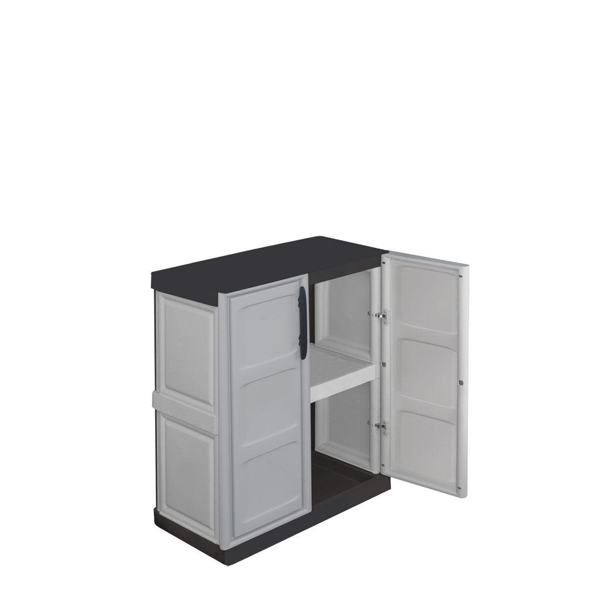 Aparador De Livros Diy ~ Armarios de plástico modulares