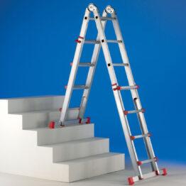 Escalera de aluminio doméstica plegable Antares
