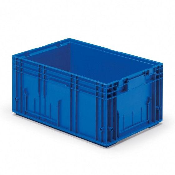 Caja de pl stico rlklt norma europa for Cajas de plastico precio