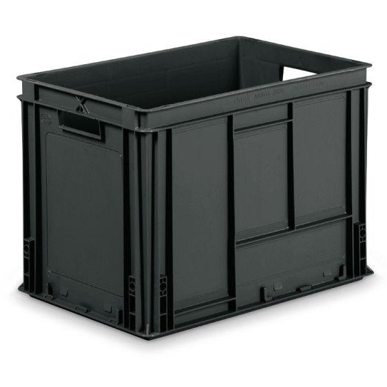 Cajas de pl stico esd athena - Caja almacenaje plastico ...