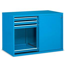 Armarios metálicos para taller y oficina con puertas correderas Standard