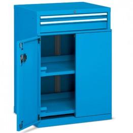 Armarios metálicos para taller y oficina con puertas batientes Standard