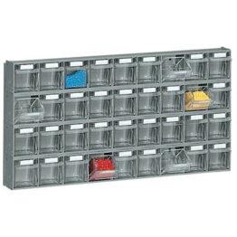 Soportes de pared para contenedores basculantes