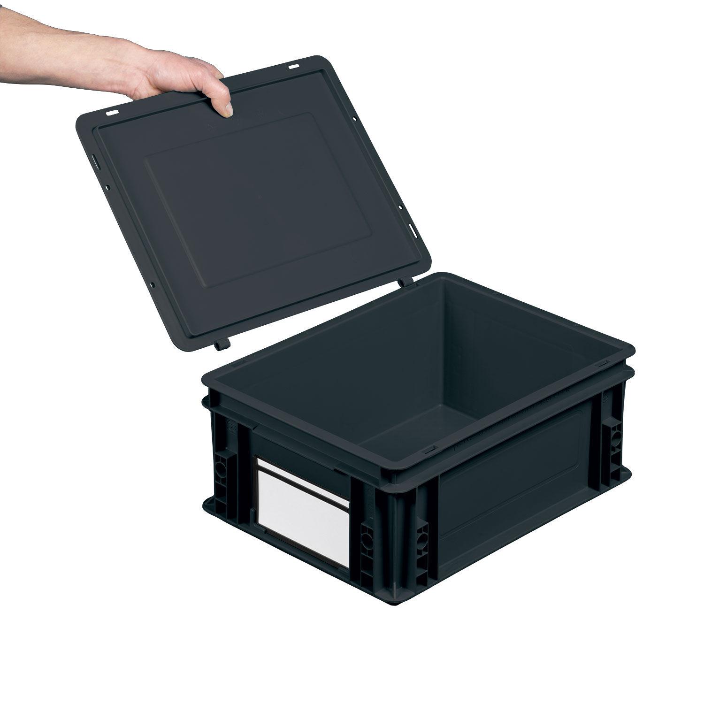 Cajas de plastico interesting caja con tapa de plstico - Caja plastico con tapa ...