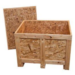 Cajas y contenedores de madera