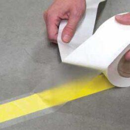 Cubierta transparente para las cintas de marcaje