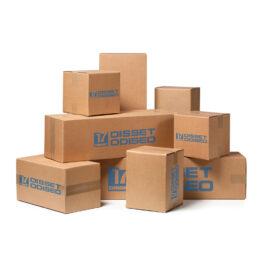 Cajas y contenedores de cartón y madera