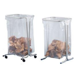 Soportes para bolsas de basura con o sin ruedas. Disset Odiseo