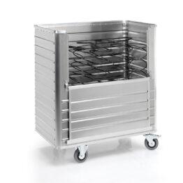 Carros de aluminio con paredes nervadas. Disset Odiseo