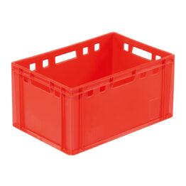 Cajas de plástico para carnes y embutidos