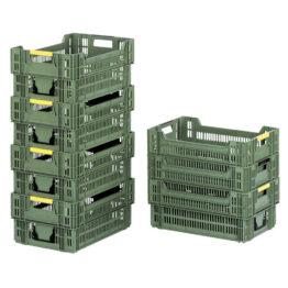 Cajas de plástico para frutas y vegetales
