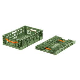 Cajas de plástico plegables para frutas y vegetales