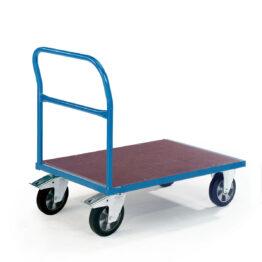 Carros de transporte con base y paredes de madera para 1000kg