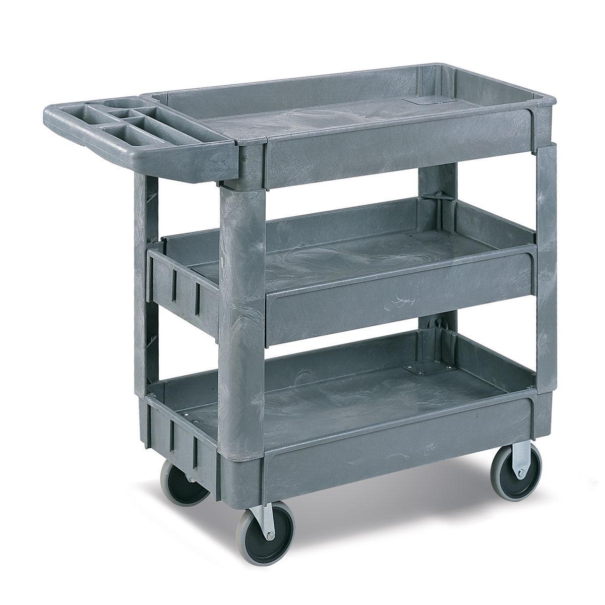 Carros de transporte de pl stico for Carritos con ruedas para cocina