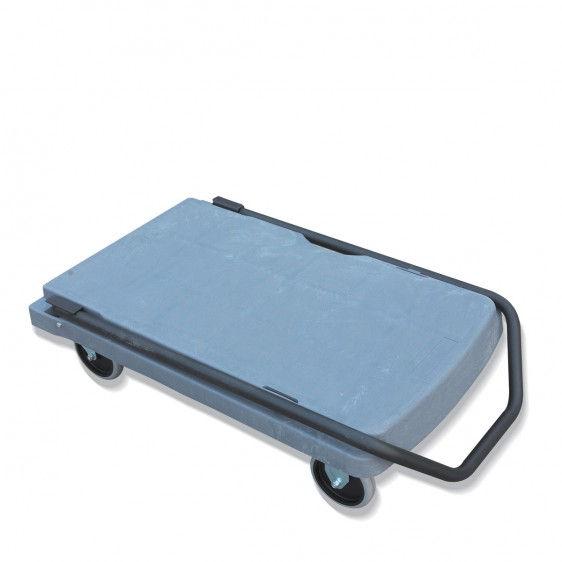 Carros de transporte de plástico