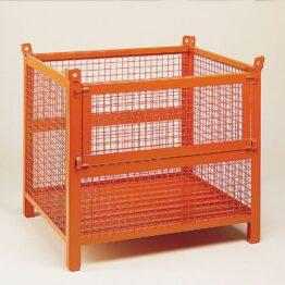 contenedor-con-paredes-de-malla-y-patas-con-puerta-frontal