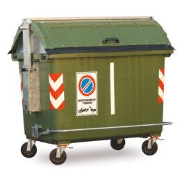 Contenedores plásticos para residuos de 4 ruedas