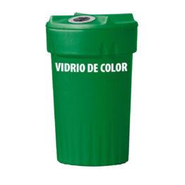 Contenedores plásticos para recogida selectiva de pequeños residuos