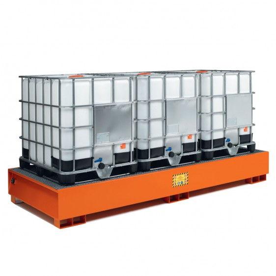 Cubetos de retención en acero para KTC/IBC