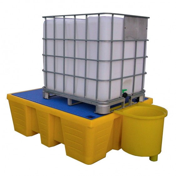 Cubetos de retención en PE para KTC/IBC