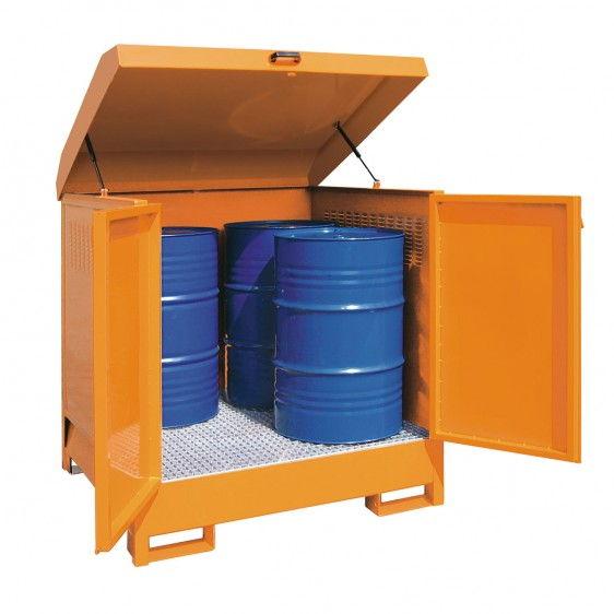 Depósitos de exterior para barriles