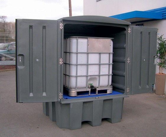 Depósitos de exterior en PE para barriles y KTC