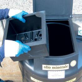 Depósitos para la recogida selectiva de aceites usados