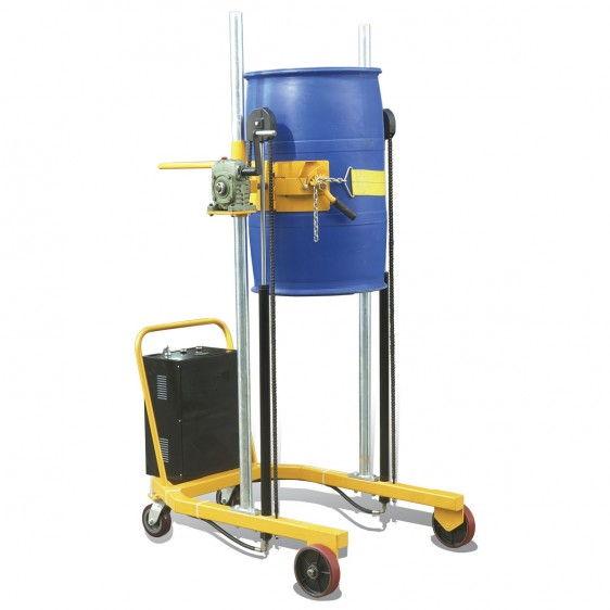 Elevador-volteador de barriles de 200lts