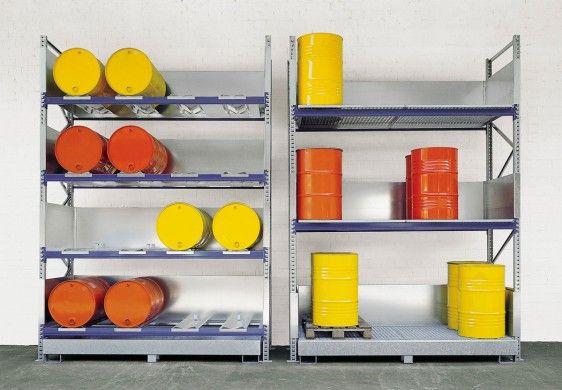 Estanterías para el almacenamiento interior