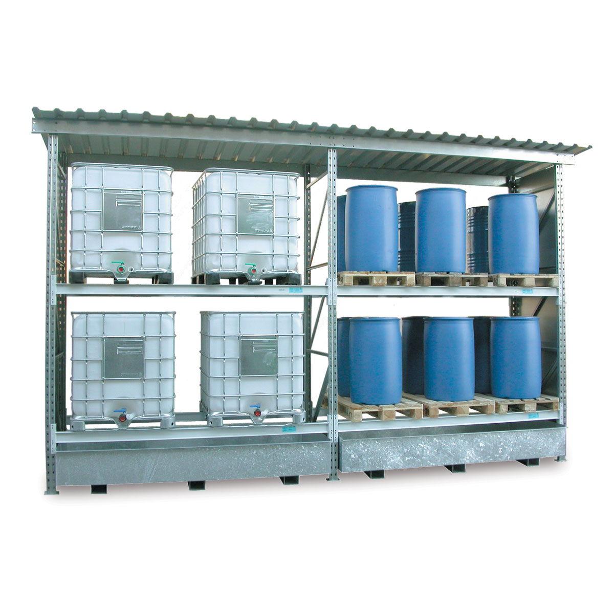Estanter as para el almacenamiento exterior de palets - Estanterias para palets ...
