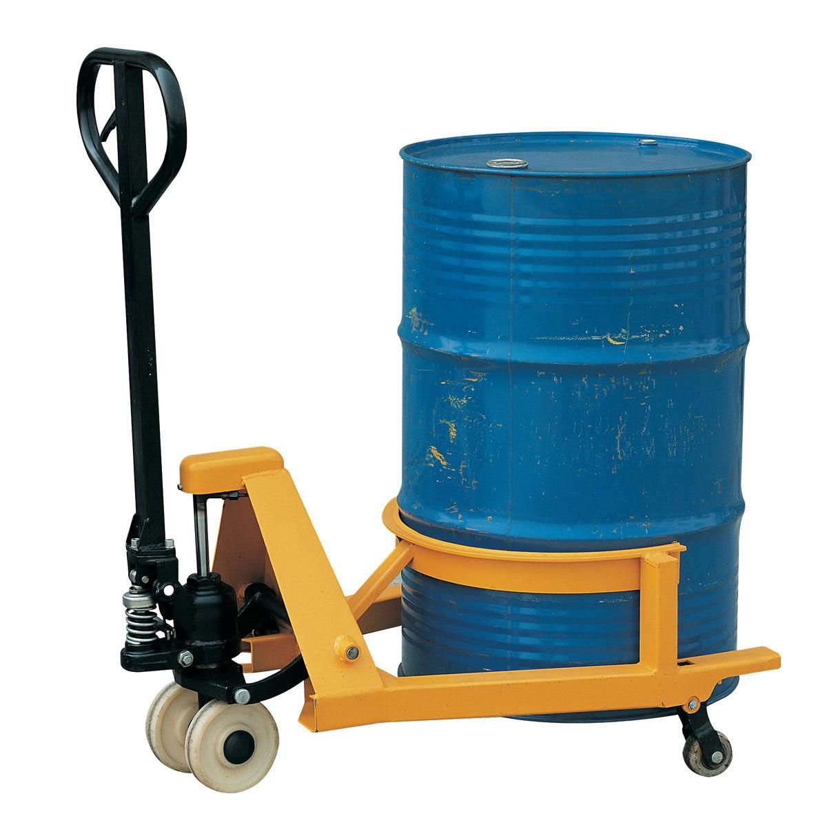 Manipulador de barriles para carretilla