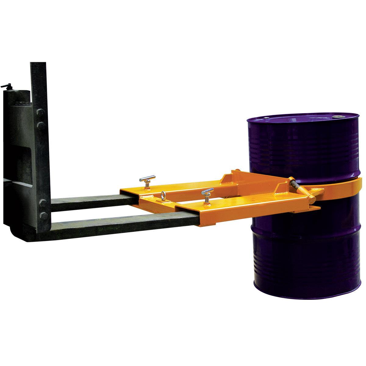 Manipulador Vertical De Bidones Para Carretilla