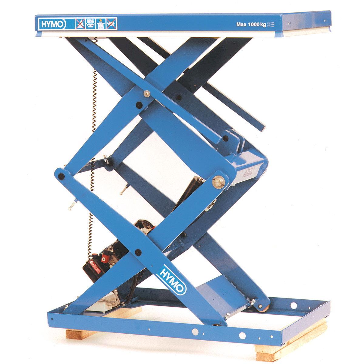 Mesas elevadoras de alto rendimiento de doble y triple tijera de altas prestaciones