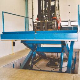 Mesas elevadoras de alto rendimiento hasta 20000kg de altas prestaciones
