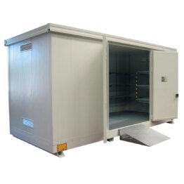 Módulos de almacenamiento exterior isotérmicos