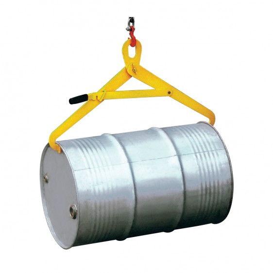 Pinza para la manipulación horizontal de barriles