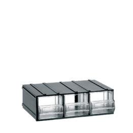 Módulos ensamblables con cajones GLASS