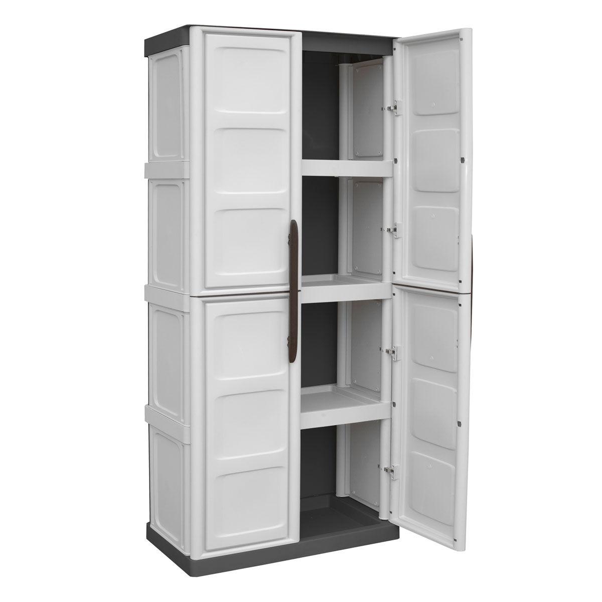 armarios de pl stico modulares ForArmario Para Jardin Plastico