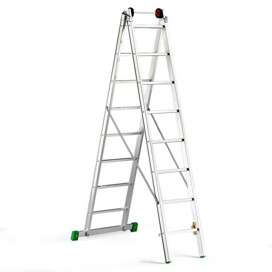 Escalera de dos tramos omega - Escalera dos tramos ...