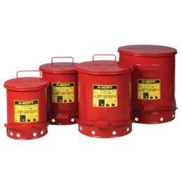Recipientes de seguridad para residuos inflamables
