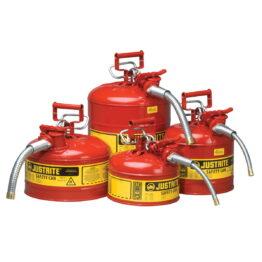 Recipientes de seguridad para inflamables con tubo dosificador